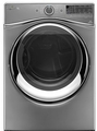 WGD97HEDC Whirlpool 7.4 cu. ft. Duet Front Load Electric Steam Dryer with SilentStee Dryer Drum - Chrome Shadow