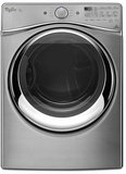 WGD97HEDU Whirlpool 7.4 cu. ft. Duet Front Load Gas Steam Dryer with SilentSteel Dryer Drum - Diamond Steel