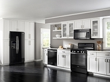 Whirlpool Ice Collection of Appliances - Black Ice and White Ice