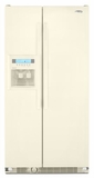Whirlpool Side by Side Refrigerators - BISCUIT