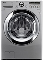 WM3250HVA LG 4.0 Cu. Ft. Ultra Large Capacity Steamwasher with Coldwash - Graphite Steel