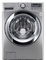 WM3370HVA LG 4.3 cu. ft. Ultra Large Capacity Washer with Steam Technology - Graphite Steel