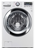 WM3370HWA LG 4.3 cu. ft. Ultra Large Capacity Washer with Steam Technology - White