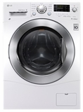 "WM3477HW LG 2.3 cu. ft. Large Capacity 24"" Compact All-In-One Washer/Dryer Combo - White"
