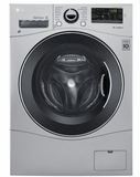 "WM3488HS LG 24"" Compact All-In-One Washer and Dryer with 2.3 Cu. Ft. Capacity - Silver"