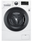 "WM3488HW LG 24"" Compact All-In-One Washer and Dryer with 2.3 Cu. Ft. Capacity - White"