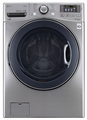 WM3570HVA LG 4.3 Cu. Ft. White Front Load Washer - Graphite Steel