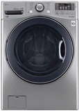WM3575CV LG 4.5 cu.ft. Ultra Capacity Front Load Washer with TurboWash Technology - Graphite Steel