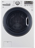 WM3575CW LG 4.5 cu.ft. Ultra Capacity Front Load Washer with TurboWash Technology - White