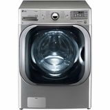 WM8000HVA LG 5.1 Cu. Ft. Mega Capacity TurboWash Front Load Washer with Steam Technology - Graphite Steel