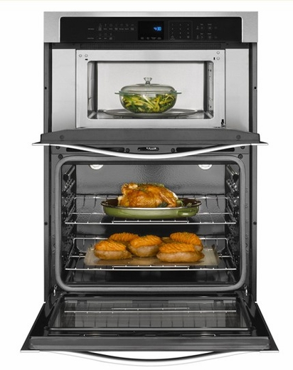 over the range convection microwave stainless