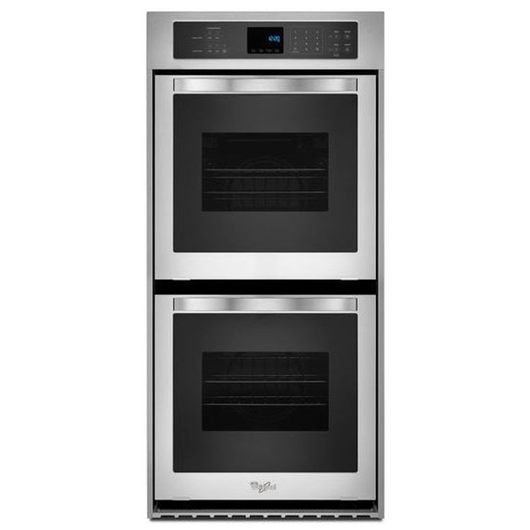 24 inch double wall oven. WOD51ES4ES Whirlpool 24 Inch 6.2 Cu. Ft. Double Wall Oven With High Heat Self I