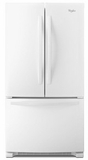 WRF532SMBW Whirlpool 22 cu. ft. French Door Refrigerator with Accu-Chill System - White