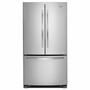 WRF535SMBM Whirlpool 25 cu. ft. French Door Refrigerator with Greater Capacity - Stainless Steel