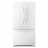WRF535SMBW Whirlpool 25 cu. ft. French Door Refrigerator with Greater Capacity - White