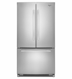 WRF535SWBM Whirlpool 25 cu. ft. French Door Refrigerator with Interior Water Dispenser - Stainless Steel