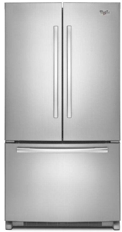 Exceptionnel WRF540CWBM Whirlpool 20 Cu. Ft. French Door Refrigerator With Counter Depth  Styling   Stainless