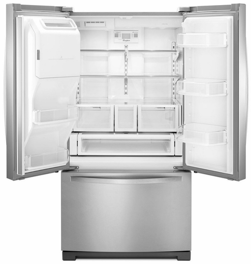 Wrf757sdem Whirlpool 27 Cu Ft French Door Bottom Freezer