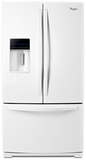 WRF989SDAW Whirlpool 29 cu. ft. French Door Refrigerator with the Most Fresh Food Capacity Available - White