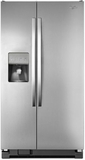 "WRS331FDDM Whirlpool 33"" Side-by-Side 21 Cu. Ft. Refrigerator with Water Dispenser - Stainless Steel"