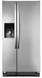 WRS342FIAM Whirlpool 22 cu. ft. Side-by-Side Refrigerator with In-Door-Ice System - Monochromatic Stainless Steel