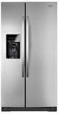 WRS537SIAF Whirlpool 27 cu. ft. Side-by-Side Refrigerator - Mono Satina Steel