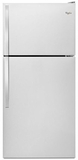 "WRT318FZDM Whirlpool 30"" Wide Top-Freezer Refrigerator with Flexi-Slide Bin - Stainless Steel"