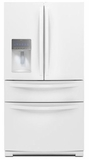 WRX988SIBW Whirlpool 28 cu. ft. 4-Door French Door Refrigerator with the Most Flexible Storage - White