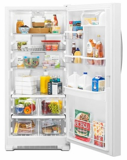 Wsr57r18dh Whirlpool 18 Cu Ft Sidekicks All Refrigerator
