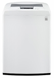 WT1101CW LG 4.3 cu. ft. Large Capacity Top Load Washer with Sleek Easy Front Control Panel - White