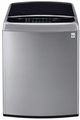 WT1701CV LG 5.0 Cu. Ft. Mega Capacity Front Control Top Load Washer with Turbowash - Graphite Steel