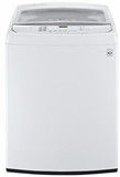 WT1701CW LG 5.0 Cu. Ft. Mega Capacity Front Control Top Load Washer with Turbowash - White