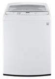 WT1801HWA LG 5.0 Cu. Ft. Mega Capacity Front Control TurboWash Washer with Steam - White