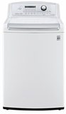WT4970CW LG 4.7 Cu. Ft. Ultra Large High Efficiency Top Load Washer with Waveforce - White