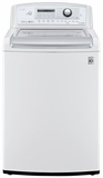 WT5270CW LG 4.9 Cu. Ft. Mega Capacity Top Load Washer with TurboWash - White