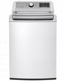 "WT7500CW 27"" LG 5.2 cu. ft. Mega Capacity Top Load Washer with 950 rpm and StainCare - White"