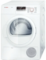 "WTB86200UC Bosch Ascenta 24"" Compact Electric Ventless / Condensation Dryer - White"
