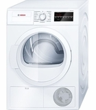 "WTG86400UC Bosch 300 Series 24"" Compact Condensation Dryer - White"