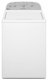 WTW4800BQ Whirlpool 3.4 Cu Ft Top Load Washer - White on White