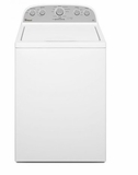 "WTW4810EW 28"" Whirlpool High-Efficiency Top-Load Washer with Low 3.5 cu. ft. Capacity and Presoak Option - White"