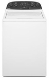 WTW4850BW Whirlpool 3.6 Cu. Ft. Top Load Washer with Fabric Sense Technology - White