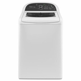 WTW8100BW Whirlpool 4.5 cu. ft. Cabrio Platinum HE Top Load Washer with EasyView Framed Glass Lid - White