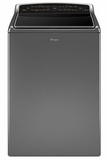 WTW8700EC Whirlpool 5.3 cu. ft. Smart Cabrio Top Load Washer with Laundry App - Chrome Shadow