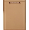 "ZDT870SIF GE Monogram 24"" Fully Integrated Dishwasher - Custom Panel"