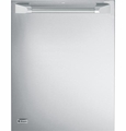 """ZDT870SPFSS GE Monogram 24"""" Fully Integrated Dishwasher with Pro Handle - Stainless Steel"""