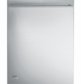 """ZDT870SSFSS GE Monogram 24"""" Fully Integrated Dishwasher with Euro Handle - Stainless Steel"""