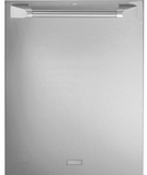 "ZDT915SPJSS GE Monogram 24"" Fully Intergarted Dishwasher with 5 Wash Settings and Hard Food Disposer - Stainless Steel"