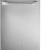 """ZDT975SPJSS GE Monogram 24"""" Fully Integrated Dishwasher with 5 Wash Settings and Hard Food Disposer - Stainless Steel"""