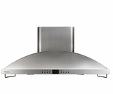 "ZV1050SFSS GE Monogram� Stainless Steel 42"" High Performance Island Hood"