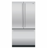 ZWE23ESHSS GE Monogram Energy Star 23.1 Cu. Ft. Counter-Depth French-Door Refrigerator - Stainless Steel